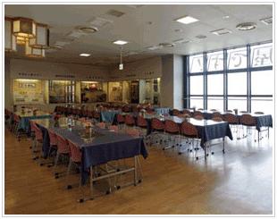 団体お食事会場の写真
