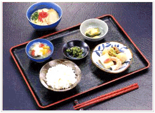 郷土の料理膳1